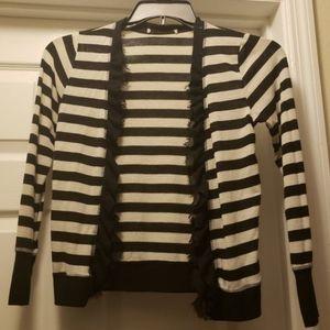 B&W striped sweater